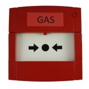 Gas alarm push button
